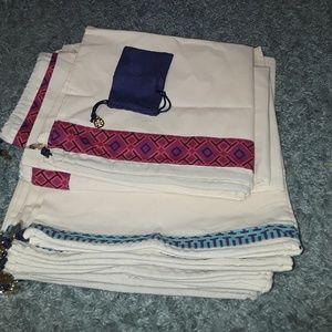 Tory burch storage bags